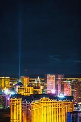 Hot Vegas Nights (Thomas Hawk) Tags: america clarkcounty ferriswheel highroller lasvegas lasvegasstrip nevada sincity usa unitedstates unitedstatesofamerica vegas fav10 fav25 fav50