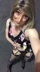 Hello Friday , new silk summer dress, stockings and heels , feeling all girly . Have a great weekend fellow Flickr people mwah 💋 (emma_jay_park) Tags: makeup heels blonde emmajay emmajaypark transsexual boy2girl boytogirl mtf xdressing xdress xdresser crossdress crossdressing crossdresser tgirl tgurl trannies tranny trans transvesite tv cd