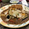 curry and rice (Hideki Iba) Tags: curry rice カレーライス vegetable osaka japan iphone square japanese style japanesestyle 洋食 地下 阪神 改札口 curryandrice カレー 皿 カツ ピクルス bokeh