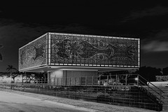 The Bacardi Jewel Box Annex Building, 2100 Biscayne Boulevard, Miami, Florida, USA / Architect:  Ignacio Cabrera-Justiz / Built : 1974 / Architectural Style: Miami Modern  (MiMo) (Jorge Marco Molina) Tags: miami florida usa miamibeach miamigardens northmiamibeach northmiami miamishores cityscape city urban downtown density skyline skyscraper building highrise architecture centralbusinessdistrict miamidadecounty southflorida biscaynebay cosmopolitan metropolis metropolitan metro commercialproperty sunshinestate realestate tallbuilding midtownmiami commercialdistrict commercialoffice wynwoodedgewater residentialcondominium dodgeisland brickellkey southbeach portmiami sobe brickellfinancialdistrict keybiscayne artdeco museumpark brickell historicalsite miamiriver brickellavenuebridge midtown sunnyislesbeach moonovermiami thebacardijewelboxannexbuilding 2100biscayneboulevard ignaciocabrerajustiz 1974 miamimodern mimo