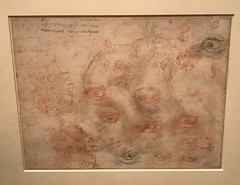 Michelangelo and Pupils_Excercise Sheet-Drawing Lessons by the Master (Hiero_C) Tags: metropolitanmuseum newyork art drawing michelangelo italian