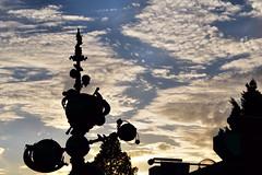 Disneyland Sunset (Jslark91) Tags: california ca losangeles los angeles anaheim orangecounty orange county oc disneyland sunset clouds blue skys sky day spot metering disney themepark theme park