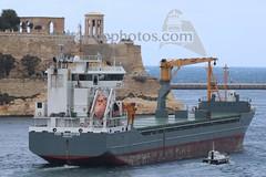 #TIDE #NAVIGATOR leaving #Valletta, #GrandHarbour, #Malta - 23.03.2018 - www.maltashipphotos.com (Malta Ship Photos & Action Photos) Tags: sea dutch mpp forestwave mmh