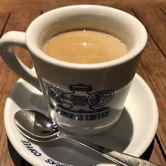 coffee (Hideki Iba) Tags: square indoor iphone japan kobe drink tasty coffee cafe spoon