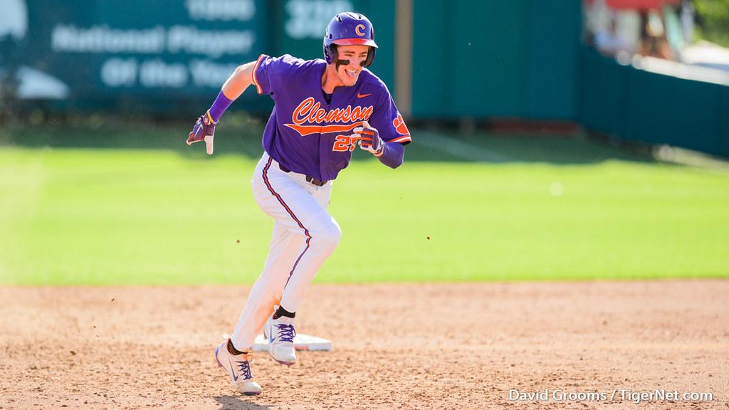 Clemson Photos: Patrick  Cromwell, 2018, Baseball, Florida  State