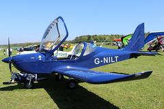 G-NILT (GH@BHD) Tags: gnilt evektoraerotechnik ev97 eurostar eurostarsl pophammicrolighttradefair2018 pophamairfield popham microlight aircraft aviation
