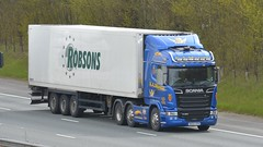 NK64 VFM (panmanstan) Tags: scania r450 wagon truck lorry commercial freight transport haulage vehicle a1m fairburn yorkshire