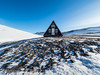 Safety (JRPics.) Tags: hut westiceland landscape seastacks volcanic water frost sea icepattern iceland waterfalls bluesky safty mountains ice coast rocks frozen