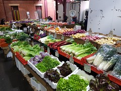 Produce in the Queen Victoria Markets in Melbourne city in May 2018, Victoria, Australia. (Michael J. Barritt) Tags: citystreets streetart melbourne city may 2018 victoria australia