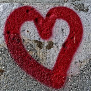 Ein Herz für Wände
