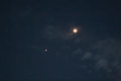 júpiter y venus (perez rayego) Tags: conjunción conjunction júpìter jupiter venus planetas planets night noche sky