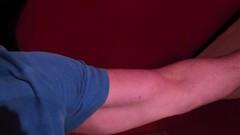 BIG BULGING BICEPS (FLEX ROGERS) Tags: massive muscles muscular musclemodel pumped arms arm muscle guns strong flexing 18inch bodybuilding blackandwhite biceps bodybuilder big bizeps abs bizep