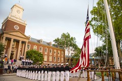 180521-G-XO367-099 (US Coast Guard Academy) Tags: corpsofcadets uscoastguardacademy newlondon connecticut cadets officers academy barger pettyofficernicolefoguth rearadmjamesrendon usa