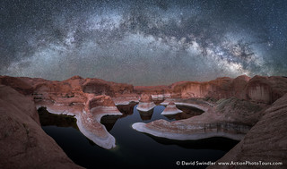 Reflection Canyon By Night