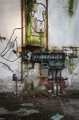 (bananahh) Tags: abandoned factory graffiti decay industrial derelict