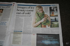 Rebekka in Observer Newspaper, August 13th 2006 (Goss) Tags: news newspaper iceland flickr britain rebekka observer august2006 flickrhero
