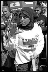W.D.W.Y. Fucking War (danny.hammontree) Tags: blackandwhite bw lebanon usa art march israel washingtondc washington bush districtofcolumbia nikon war peace unitedstates iran god palestine flag muslim georgewbush fear faith georgebush politics iraq whitehouse rally religion protest d2x middleeast photojournalism saturday august 2006 christian demonstration arab antiwar violence jew jewish zionism judaism antibush nikkor fascism beirut lafayettepark israeli activist liban violent لبنان palestinian occupation orthodoxjews waronterror marches rallies coexist 你好 hammontree digitalgrace nikond2x 和平 peacemovement dannyhammontree wwwdigitalgracecom warsucks اسرائيل sfchronicle96hours freelebanon سلا صلح روبان مشكي 黑絲帶 黎巴嫩以色列 20060812