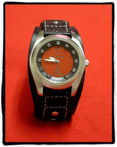 fossil watch kanji