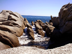Ikaria 289 (isl_gr (Mnesterophonia)) Tags: sea coast rocks mediterranean hiking papas beautyconcealed ikaria icaria  aegean trails greece ege karkinagri hikingikaria  donousa     mavri  trailofthelighthouseguards