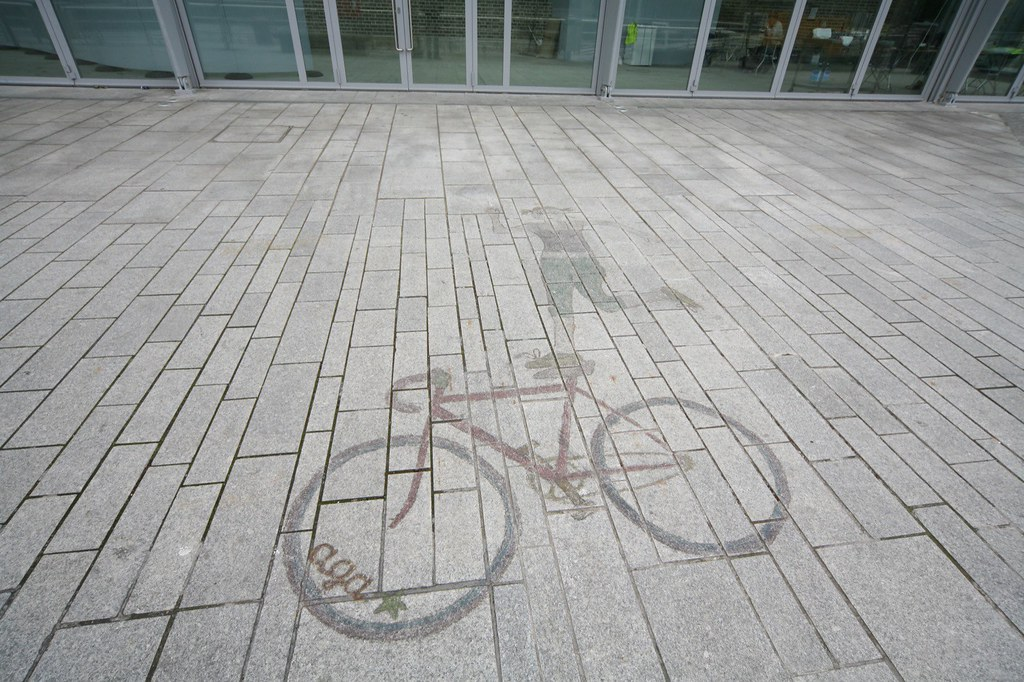 BICYCLES NOT ALLOWED ON PAVEMENT