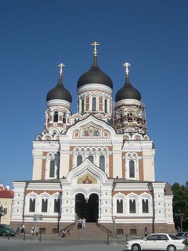 the streets of Tallinn's