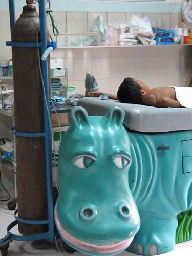 Hippo Examination Table at Angkor Children's Hospital