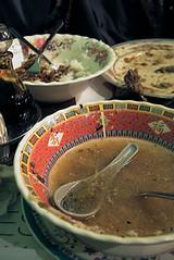 Eaten soup