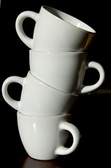 A stack of cups (wm anderson) Tags: objects cups espresso stillart nikonstunninggallery espressocups