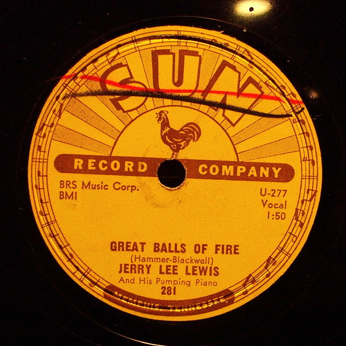 Sun Label, G... Great Balls Of Fire- Jerry Lee Lewis