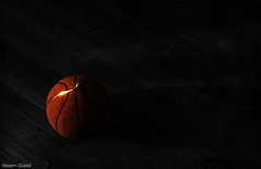 Magic Basketball (noamgalai) Tags: wood longexposure light basketball mystery night demolish ball dark photography israel photo telaviv smash break darkness d70 destruction picture photograph flashlight glowing bball destroyed wreckage shatter noam allrightsreserved woodfloor maccabi molten   photomania spalding spoil yellowheart  noamg  galai glowingball noamgalai    flashlightball basketballball glowingbasketball basketballnight destroyedball breakball theyellowheart wwwnoamgalaicom