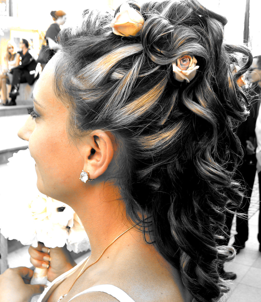 rose curl wedding_hairstyle