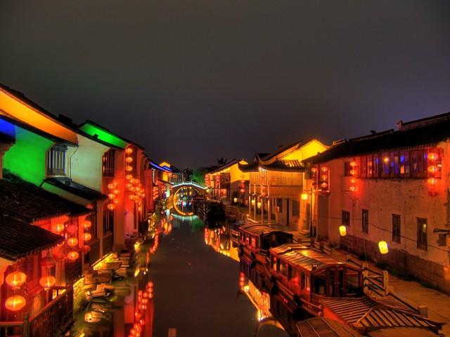 Shan Tang Jie in Suzhou