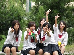 2 kool 4 skool (chaospiral) Tags: school students festival japan high culture oyodo koukou naraken