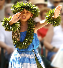 Hula Girl (Bill Adams) Tags: portrait cute girl beautiful hawaii dance hula explore human hawaiian waikoloa wahine royalcourt alohafestival 3waychallenge