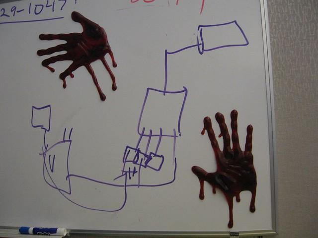 Bloody Hands!
