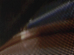 dotstream.3 (yokoz0r) Tags: amsterdam lights panel led ibc ibc2006