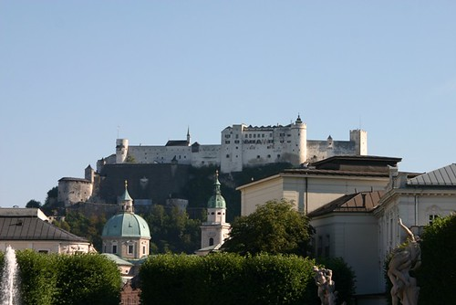 View of the Salzburg Fortress