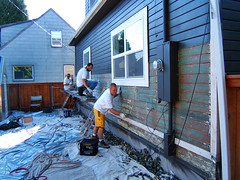 Our House Gets Painted: Scraping and Stripping...