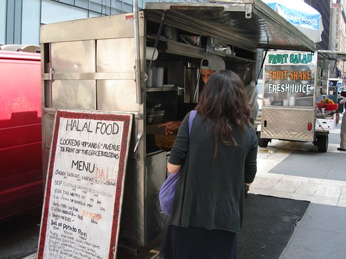 CHX & Rice Cart, 43rd & 6th Ave.