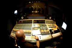 rock and roll production (johnnyalive) Tags: studio fisheye production mixing musicproduction thehalfrats soundlogicrecordingstudio indianarecordingstudio recordingstudiophoto recordingstudioimage recordingstudiophotography