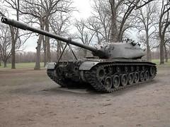 M103 Heavy Tank Prototype (Armchair Aviator) Tags: army tank military wwii iowa prototype armor davenport tanks m103 creditisland heavytank
