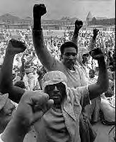 Attica Prison Rebellion, Sept. 1971 by panafnewswire