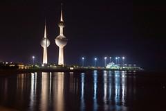 Kuwait Towers, Kuwait City, Kuwait (Not so fast) Tags: towers kuwait q8 paulhopkins q8towers paulhopkinsphotography