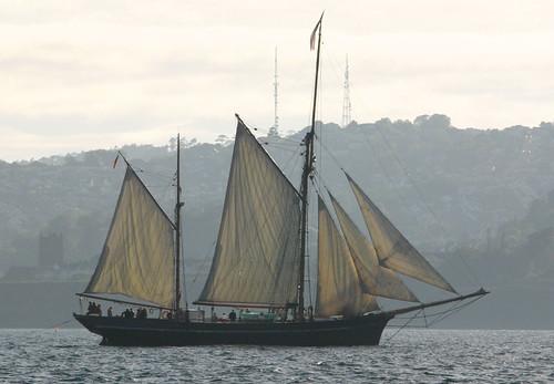Tall Ships in Torbay: Bessie Ellen