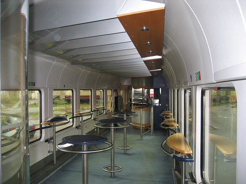 Train charter - Bord Bistro buffet car (Germany)