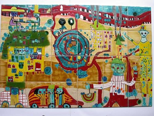 Painel Hundertwasser (by Loca....)