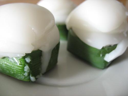 Coconut desserts...