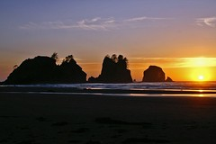 Shi Shi Sunset 4 (masters.tim) Tags: sunset beach nationalpark olympic