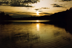 Golden delight (Martini DK) Tags: sunset sky reflection water norway bravo scan scandinavia spectacularlandscape generouscomments martinidk