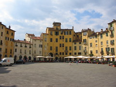 The most beautiful piazza in Lucca - Italy